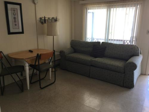 Kitchen 9, 2 bedroom unit; 2 double beds, pull-out couch